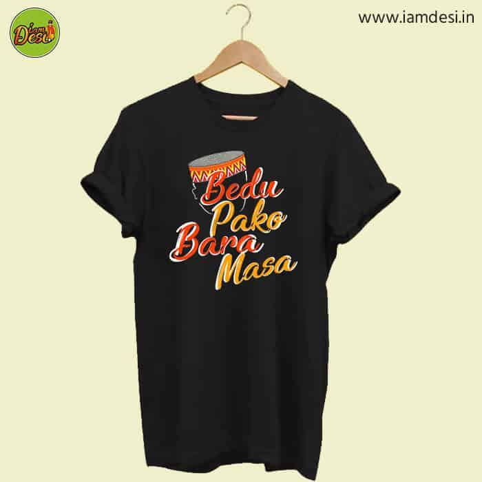 Bedu-Pako-pahadi tshirt Black